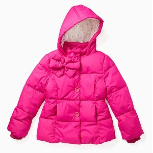 ce4cb47d950e kate spade Kids Bow Puffer Coat 20% Off + Extra 40% Off - Dealmoon
