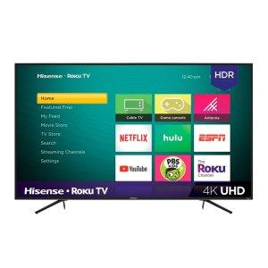 $269.99 (原价$349.99)Hisense 55吋 R6070E3 HDR 4K UHD Roku系统 智能电视