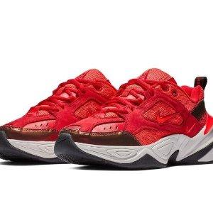 $75Nike M2k 女款麂皮老爹鞋 超正新年红