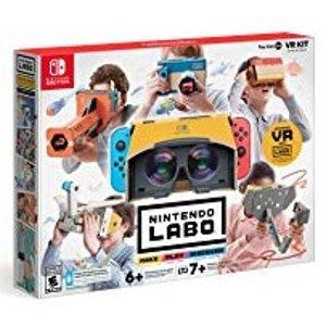 $79.99 支持中文游戏抢鲜看:Nintendo Labo Toy-Con 04 解构老任黑科技