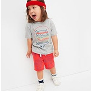 50% Off All Kids Shorts+ Up to 50% Off Every Single Thing @ Gap