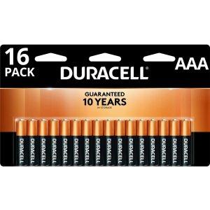 Duracell铜头电池 AAA 16节