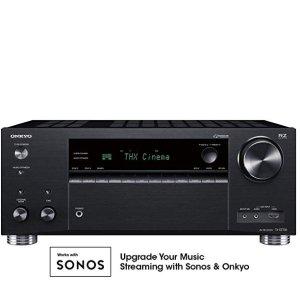 $499(原价$1099)限今天:Onkyo TX-RZ730 9.2 A/V 接收器
