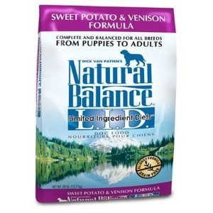 Natural BalanceL.I.D. Limited Ingredient Diets- Sweet Potato and Venison Dry Dog Food