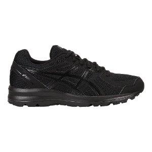 ASICS 全黑女士运动鞋