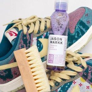 特价€18.9 回到最初的模样Jason Markk 清洁剂+鞋刷套装 小白鞋清洗神器 球鞋不发愁