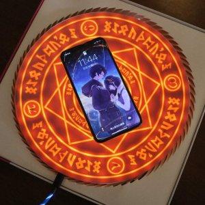 $46.99(原价$49.99)美少女战士魔法阵无线充电板 给手机也来点炫酷仪式感