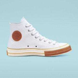 $35(原价$85)Converse Chuck 70 Pop Toe高帮帆布鞋