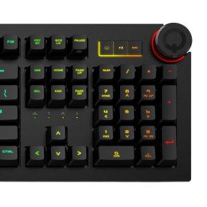 $199 表面RGB,内心生产力Das Keyboard 5Q RGB 智能机械键盘