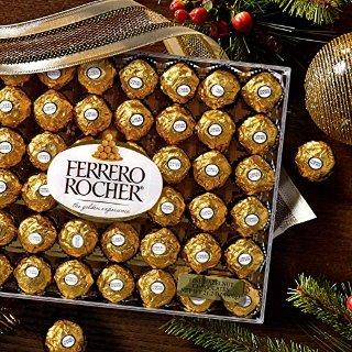$12.49 超大包装更满足Ferrero Rocher 费列罗巧克力礼盒装 48枚