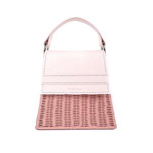 Pink Lian 迷你草编包