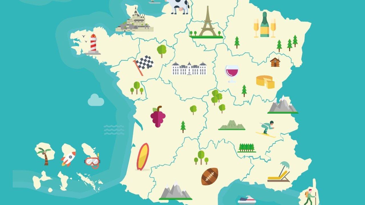法国不同大区的魅力 | 东西南北大区不同的特色和习俗,带你深入了解法国!