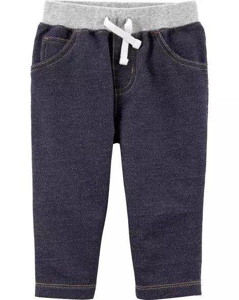 婴儿提拉针织裤
