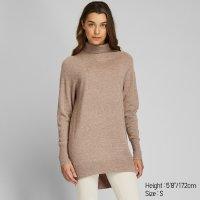 Uniqlo 100%纯羊绒高领毛衣