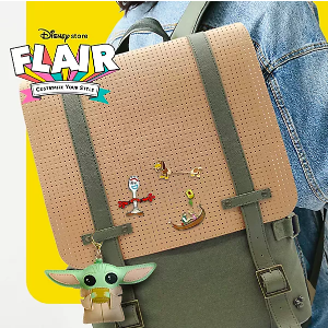 DisneyMickey Mouse Icon Flair Messenger Backpack | shopDisney