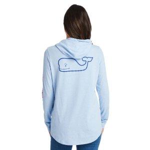 Vineyard VinesLong-Sleeve Edgartown Two-Tone Whale Hoodie