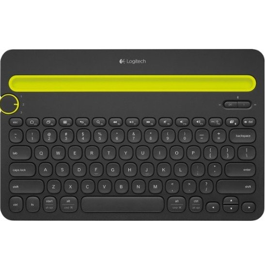 K480 蓝牙无线键盘 支持多设备切换