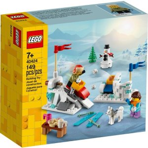Lego打雪仗