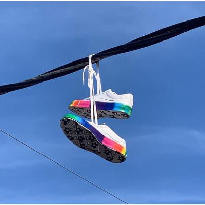 封面彩虹款£90收Converse 上新Golf le FLEUR 联名款 张艺兴也爱穿的小花鞋