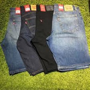 低至4.8折 $35.99(原价$80.36)Levis 541修身牛仔短裤 夏日男孩必备单品