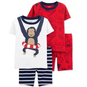 As Low As $8.93Carter's Baby & Kids Cotton Pajamas Set