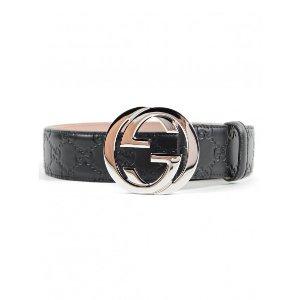 Gucci双G + 老花腰带