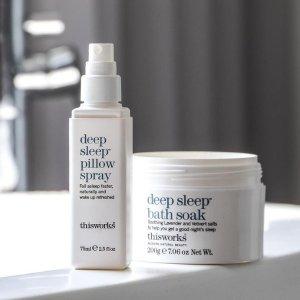 6.3折 迷你滚珠香仅$12.6黑五好价:This Works 助眠喷雾 安抚焦躁情绪 提升睡眠质量