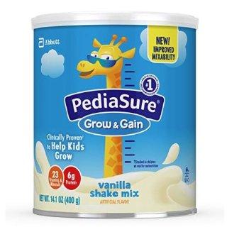 低至7.5折+包邮PediaSure Grow &Gain 雅培小安素助成长营养奶