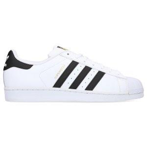 adidas Originals经典Superstar男士小白鞋