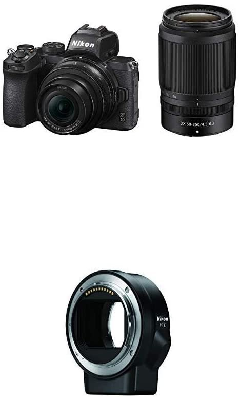 Z50 16-50/50-250mm 双镜套装 带转接环