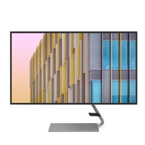 $370.49(原价$469.99)新品上市:联想Q27h-10 2K 显示器 内置扬声器 99%sRGB