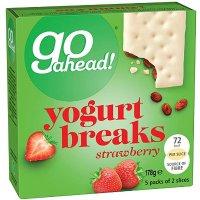go ahead! 草莓酸奶饼干