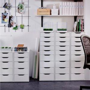 写字台、收纳台、化妆台 它都行Alex神柜来啦!IKEA 最受欢迎的收纳系列 百变小能手