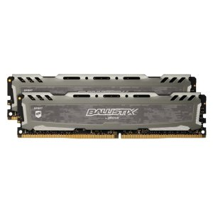 $74.95 (原价$97.99)Ballistix Sport LT 16GB (8GBx2) DDR4 3000 C15 内存