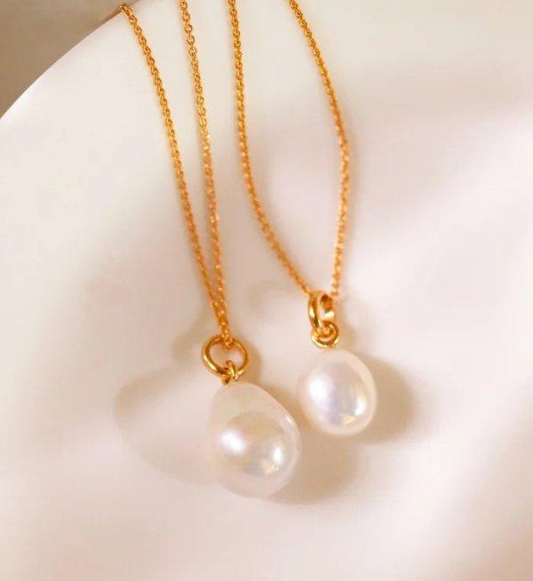 小颗珍珠吊坠