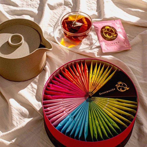 鹿儿岛Seicha礼品盒:萨摩什茶袋(49个,7种口味)
