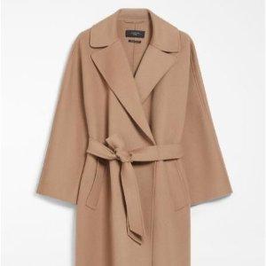5折起+叠9折!驼色大衣£468Max Mara 高奢小香风、羊毛大衣开衫、披肩等秋冬好物速收