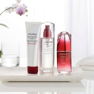 Extended: Dealmoon Exclusive Free 4-pc Gift(Value $102) with $100+ Shiseido products purchase @ Shiseido