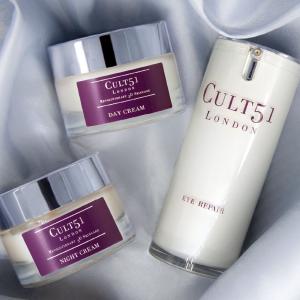 立享6.5折  面霜仅¥568英国小众贵妇品牌 CULT51,全线仅5款产品,名媛挚爱