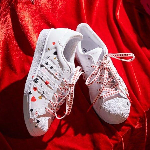 Superstar 情人节专属款女鞋 baby同款