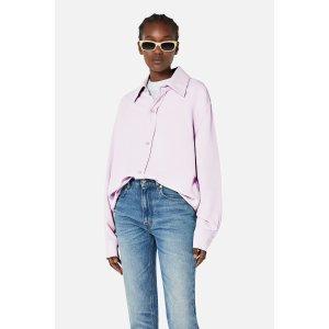 Ami ParisButtoned Oversize Shirt on Sale - AMI Paris
