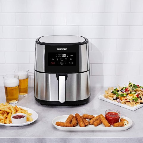 $59.99Chefman TurboFry Air Fryer, XL 8-Qt Capacity