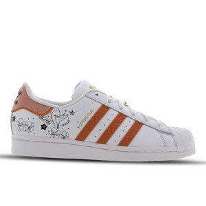 码数较全adidas Superstar 印花小白鞋