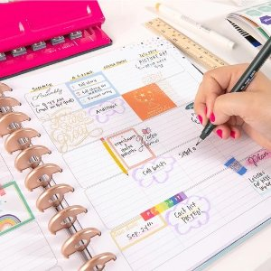Free Sticker BookBIG Teacher Happy Planner® - Teach From the Heart - 12 Months