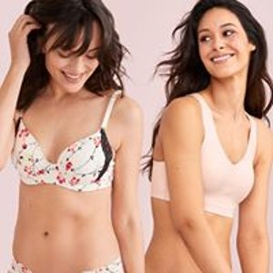 Bras 2 for $50 Panties 10 for $50Soma The Embraceable Sale