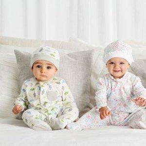 一律6折,$12收3件套Little Me、Chick Pea 会呼吸的婴儿爬服,孕妈囤货季
