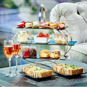 低至5折起 最低仅£12.5/人Buyagift 英式下午茶好价 夏日美味蛋糕、巧克力慕斯、司康