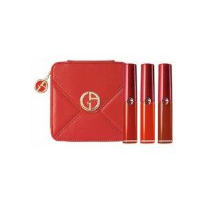 Giorgio Armani红管唇釉3件套
