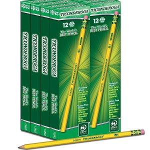 $9.96 销量冠军Dixon #2 HB 铅笔 96支