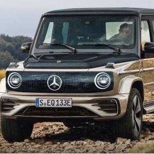大G电动版 你心动了吗Mercedes-Benz 新款EQG 纯电动版本9月即将发布